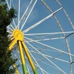 Reuzenrad - opbouw kermis Ospel 2015 (11)